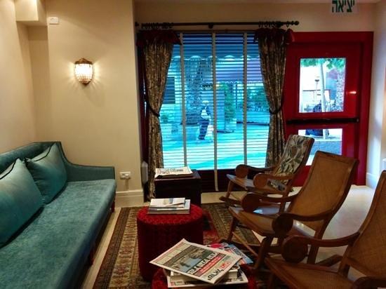 Arthur Hotel Jerusalem - an Atlas Boutique Hotel: lobby