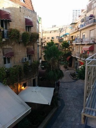 Arthur Hotel Jerusalem - an Atlas Boutique Hotel: the view from our room