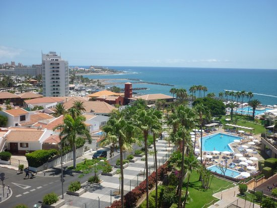 Iberostar Bouganville Playa : view from our room