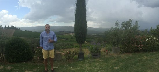 Tuscan Wine Tours - Day Tours : the view