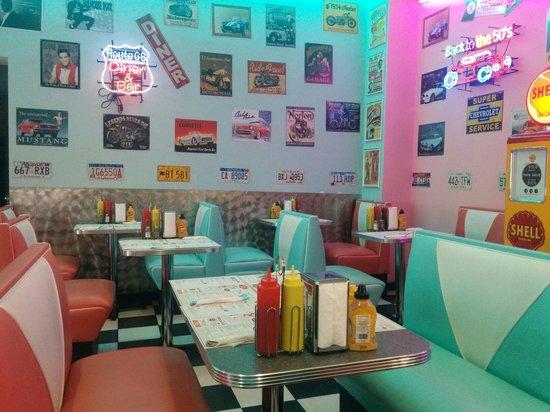 Little Rock Diner : Salle