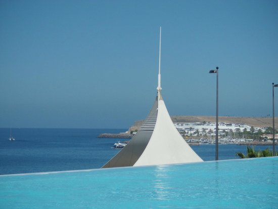 H10 Playa Meloneras Palace : View from the salted-water pool