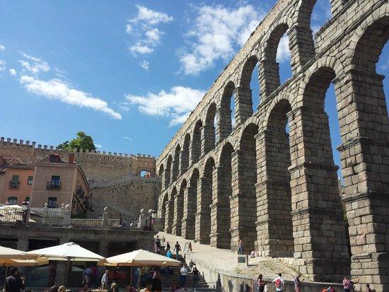 Acueducto de Segovia: VISTAS
