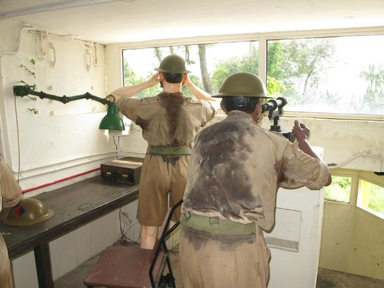 Fort Siloso: Service scene WW II