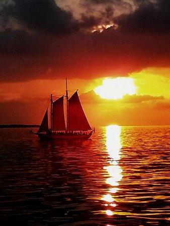Fury Water Adventures Key West: Sunset in Key West