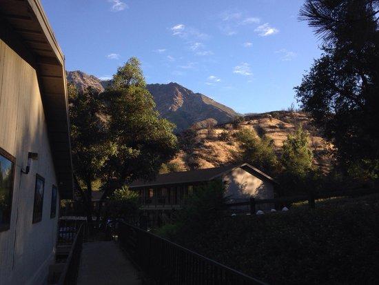 Yosemite Cedar Lodge : Lodge in the morning light