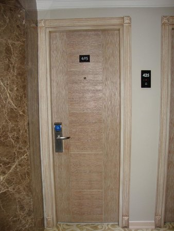 Antik Hotel Istanbul: porta della camera