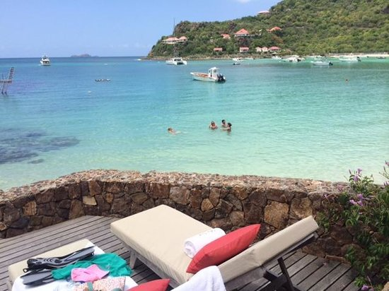 Eden Rock - St Barths: View from one of our rooms