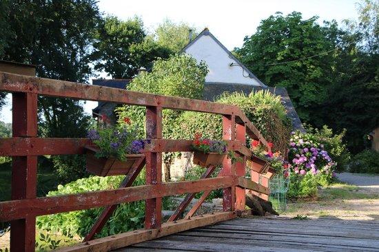 Le Moulin de Blochet : Giardino esterno