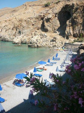 Vritomartis Naturist Resort: One of the nearby beaches.