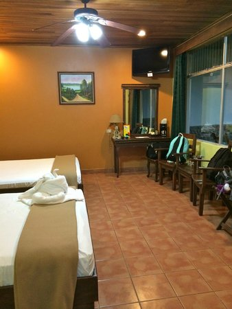 Volcano Lodge & Springs : simple, perfect for vaca