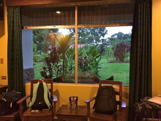 Volcano Lodge & Springs : from the room