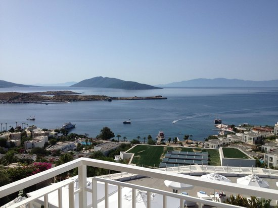 Doria Hotel Bodrum: The view from our balcony