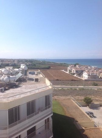 TUI SENSIMAR Sea Breeze by Atlantica: Famagusta in distance from side balcony