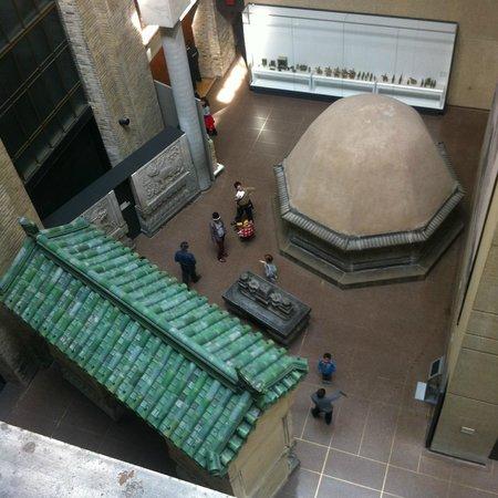 Royal Ontario Museum: viste desde el tercer piso del museo homenaje a la China