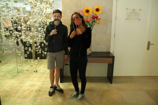 Hotel San Marco: mascherine divertenti