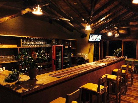 Sacred Dreams Lodge: Bar area by the lounge