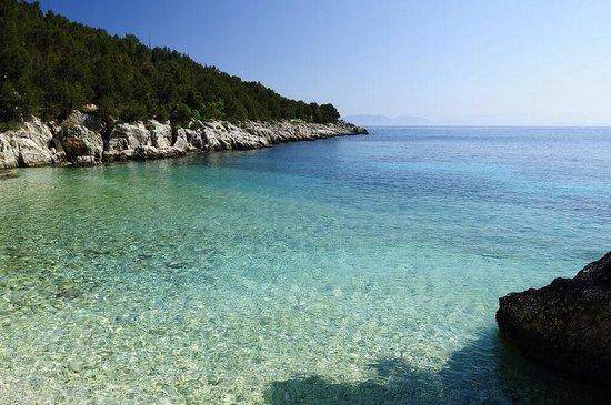 Fiscardo, Hellas: Spiaggia