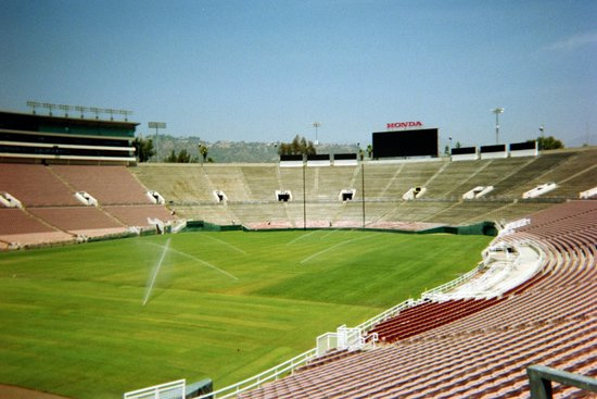 Rose Bowl Stadium: View from the field