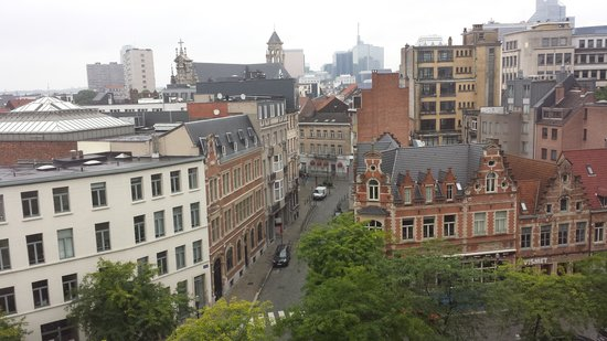 Novotel Brussels Centre: View from my room