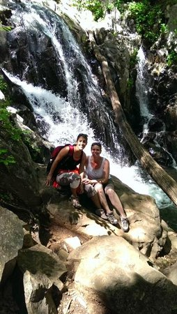 Piney Hill Bed & Breakfast: Nearby hiking trail with beautiful waterfall