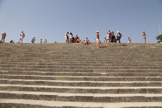 Acropolis of Lindos: Inside the Acropolis