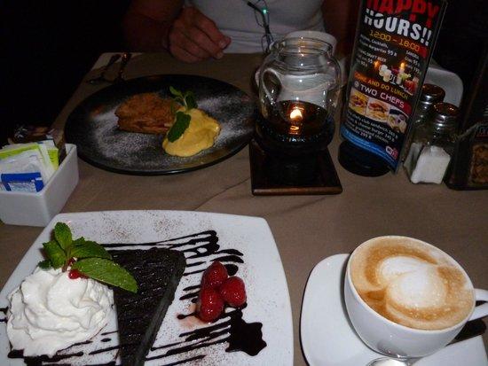 Two Chefs - Karon Beach: Yummy dessert!