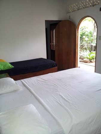 Il Padrino Hotel : Our triple room