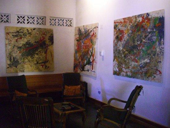 Il Padrino Hotel: Lounge area