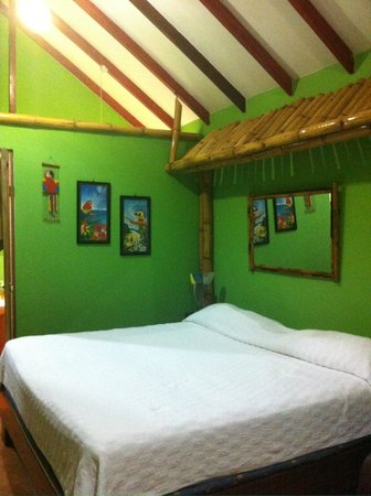 La Posada Private Jungle Bungalows: Inside our bungalow