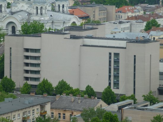 Park Inn by Radisson Kaunas: Außenansicht aus der Ferne
