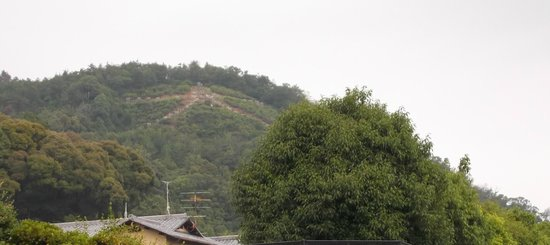 Kinkaku-ji (Goldener-Pavillon-Tempel): Marca en la montaña. Pabellón dorado, Kyoto