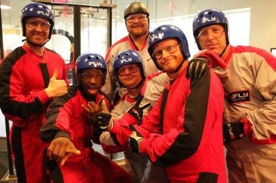 iFLY Indoor Skydiving - Austin: 1/3 10 year Reunion