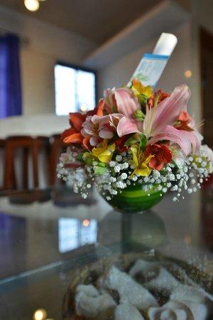 Hostelito Cozumel: Welcome Bouquet
