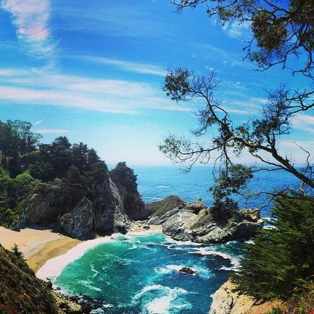 McWay Falls: View from the trail