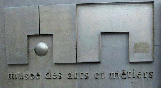 Musée des arts et métiers : The sign