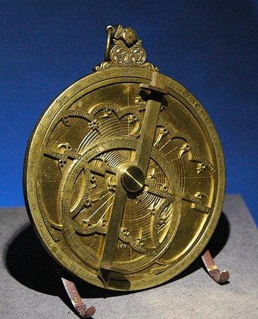 Musée des arts et métiers : Astrolabe
