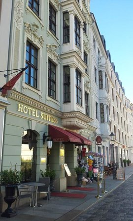 Hotel Suitess zu Dresden: Hotel entrance