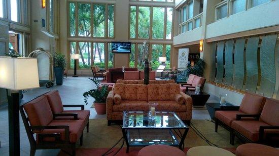 Wyndham Boca Raton : Lobby del hotel