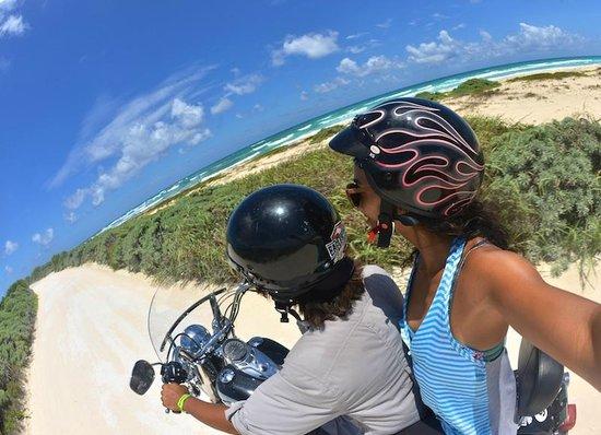 Hostelito Cozumel: Motorcycle riding Activity