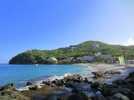 BodyHoliday Saint Lucia: End of beach
