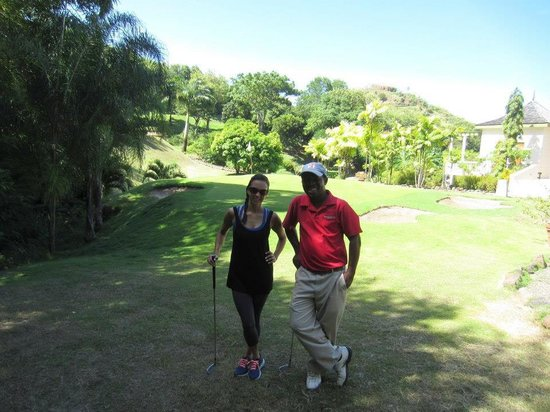 BodyHoliday Saint Lucia: Golfing lesson with Hennix