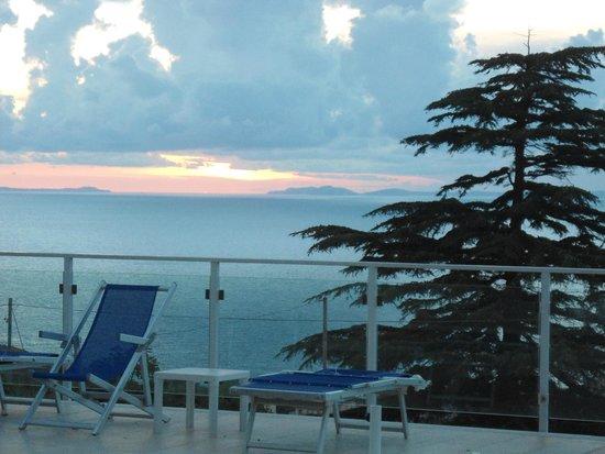 Art Hotel Gran Paradiso: vistas desde el solarium