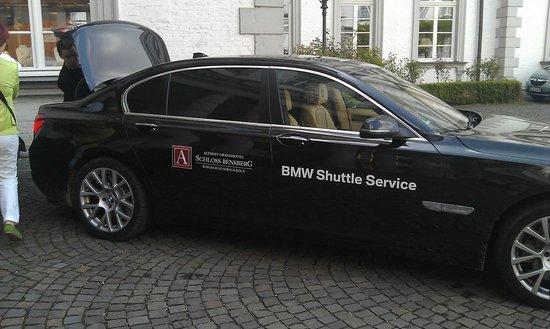 Althoff Grandhotel Schloss Bensberg: BMW Shuttle Service