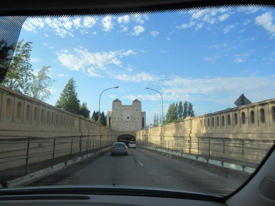 Entering Posey Tube, (Alameda to Oakland), Alameda Side, CA