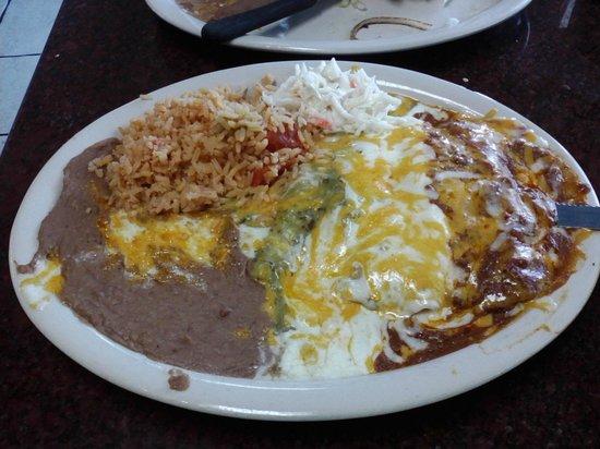 Enchiladas Picture Of La Esperanza Restaurant San Angelo
