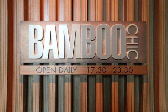 Le Meridien Bangkok : bamboo bar