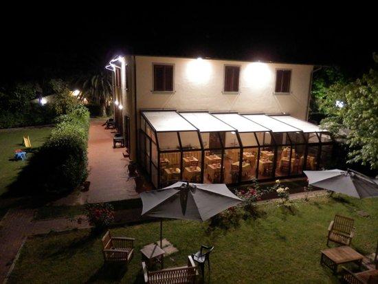 Airone Pisa Park Hotel : Vista do quarto.