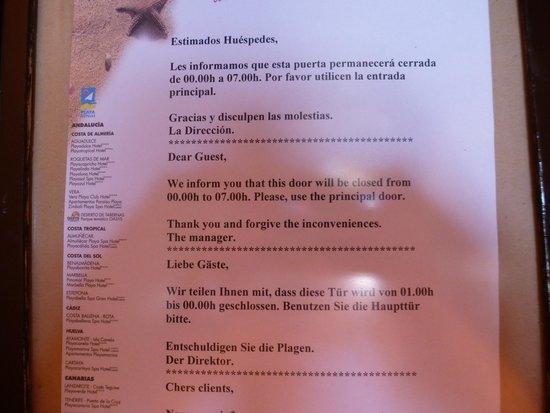 Almunecar Playa Spa Hotel: INFO