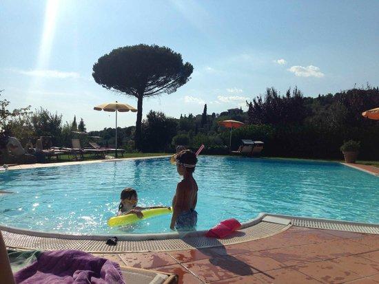 Relais Il Falconiere & Spa: Una delle piscine